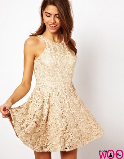 Şık Dantel Elbise Modelleri