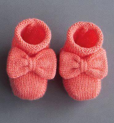 Şiş Örgüsü Bebek Patiği Modelleri