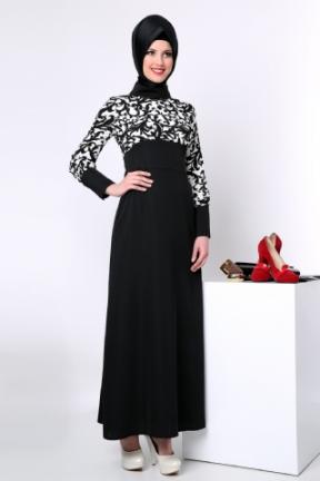 Tozlu Giyim Tesettür Elbise Modeli