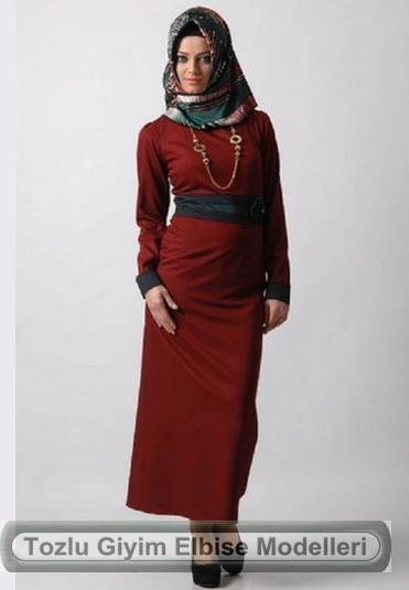 Tozlu Giyim Tesettür Elbise Modelleri