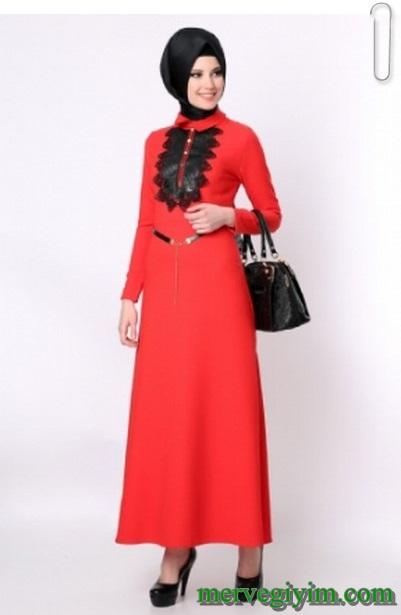 Tozlu Giyim Tesettürlü Elbise Modelleri