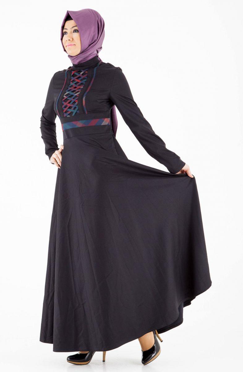 Tozlu Tesettür Elbise Çeşitleri
