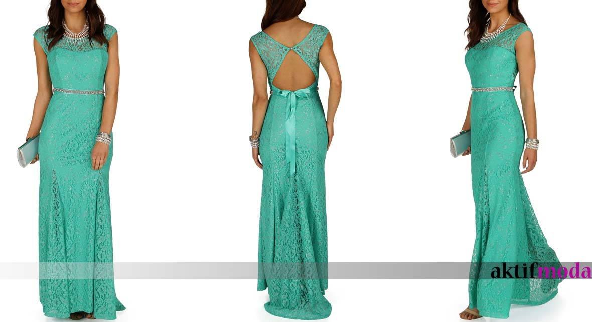 037d1b0af2381 Mezuniyet elbiseleri dantelli - Aktif Moda - Aktif Moda
