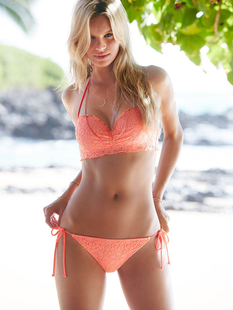Pembe Bikini Modelleri