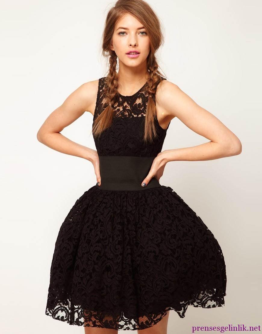 Yazlık Mini Abiye Elbiseler modelleri
