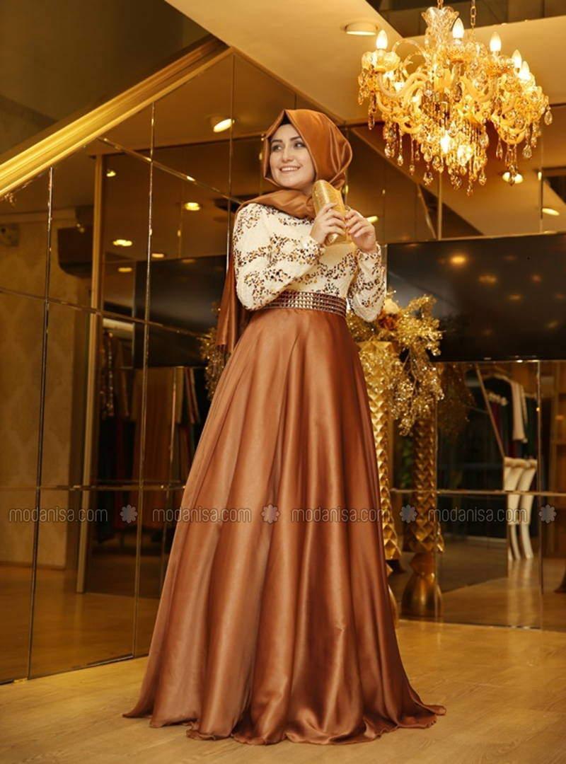 a43215d2e2c97 Tesettür Abiye Elbise Modelleri Modanisa - Aktif Moda