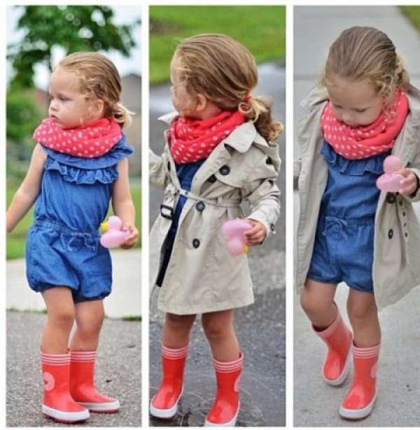 Yeni model çocuk giyimi
