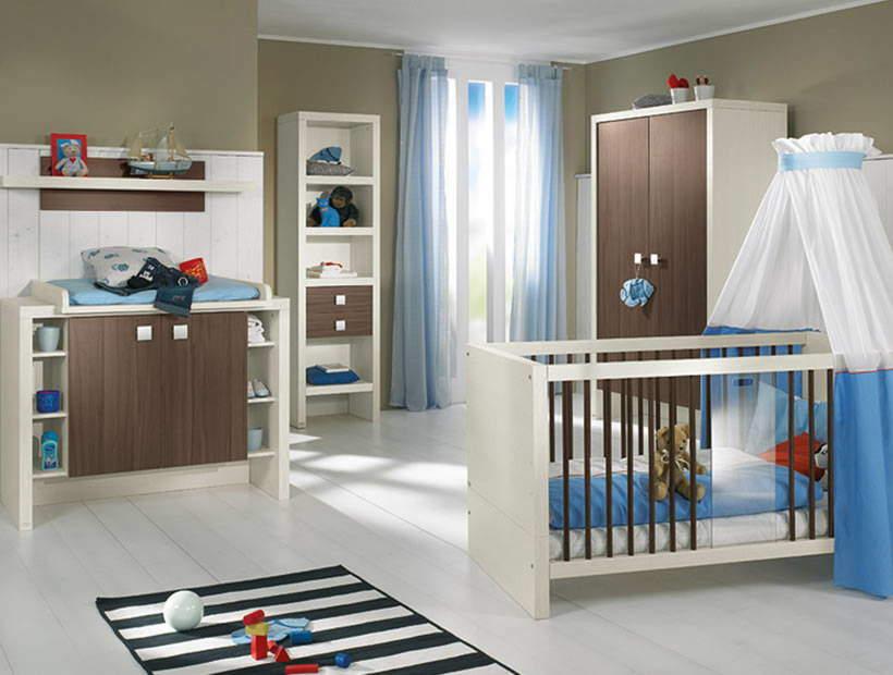 Erkek bebek odası örneği
