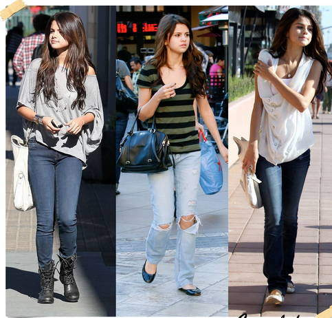 Selena Gomez Sokak Stili