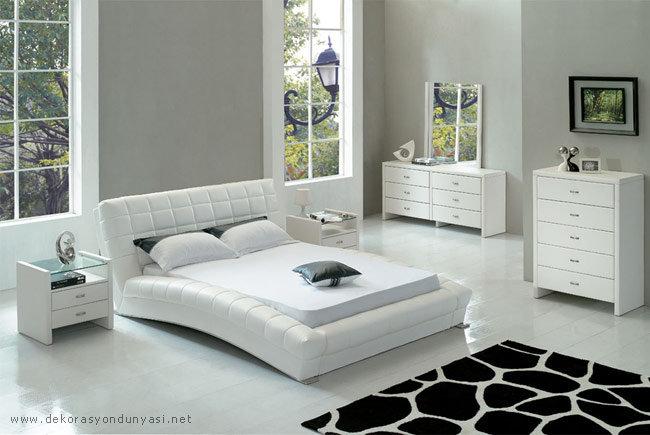 Beyaz Yatak Odasi Modelleri 13 Beyaz Yatak Odasi Takimlari
