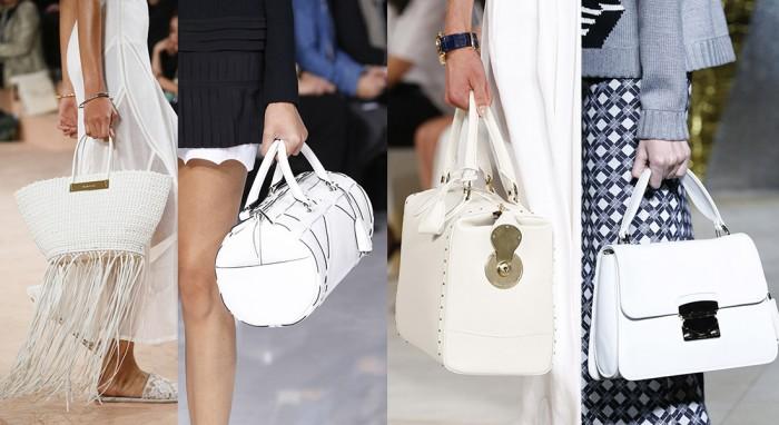 2018 Beyaz Çanta Modası