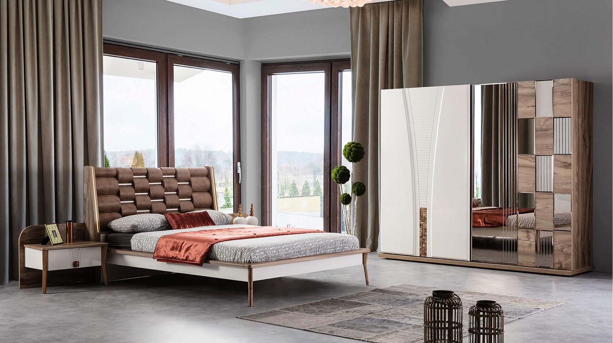 2019 Klasik Modern Yatak Odaları