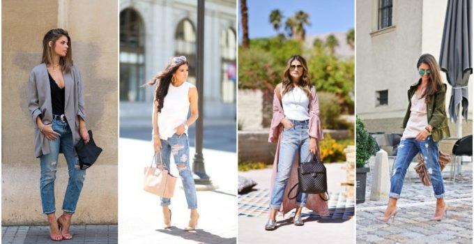 2018 Yırtık Jean Modelleri