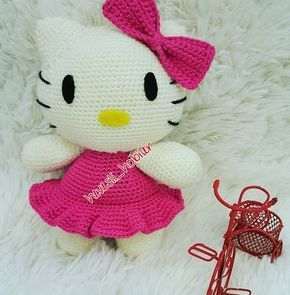 Amigurumi Sanrio Little Mermaid Hello Kitty English Crochet ... | 295x290