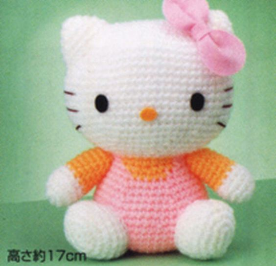 Amigurumi AMIGIMUMI HIPOPOTAM CONSTRUCTION 3. CHAPTER DRESS AND ... | 544x564