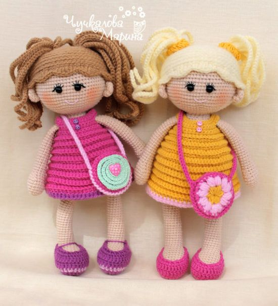 Amigurumi Bebek Tarifi : Amigurumi oyuncak bebek tarifi