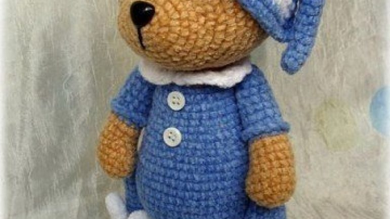 Dandy Pants pattern by Knitca | Teddy bear clothes, Teddy bear ... | 433x770