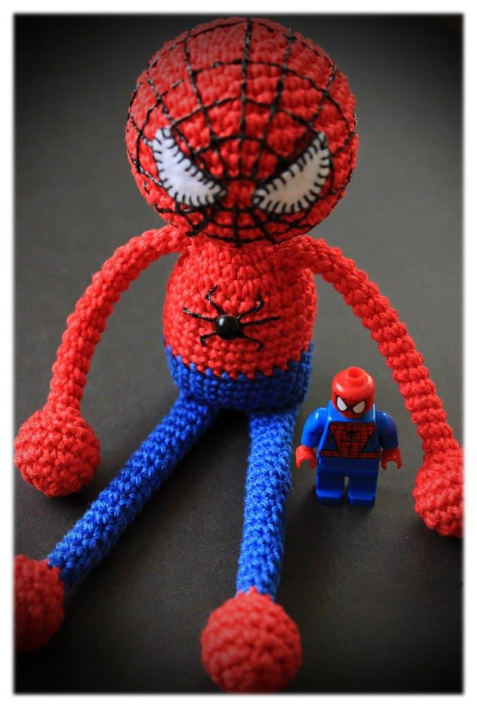 Amigurumi Örgü Örümcek Adam Yapımı | Kolay Örgüler | 1024x690
