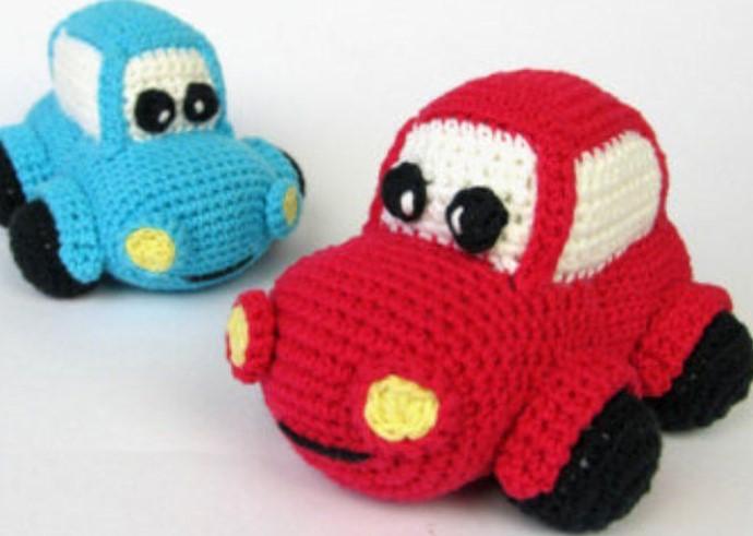 Amigurumi Oyuncak Araba4