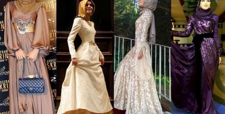 Tesettür Mezuniyet Elbiseleri