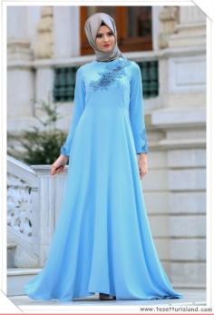 Tesettür Mezuniyet Elbisesi