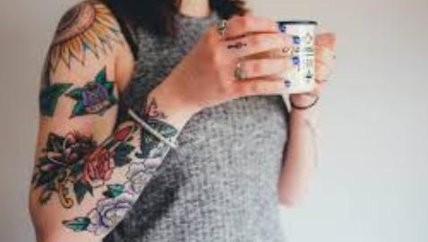 Çiçekli Kol Dövmeleri