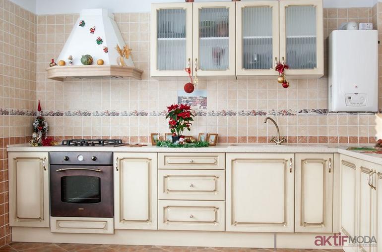 Açık Renk Mutfak Fayans Modelleri