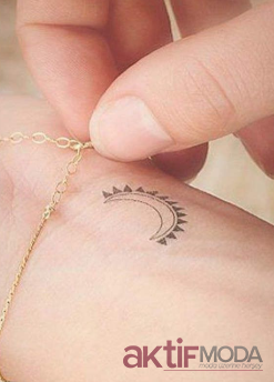 Ay ve Güneş Dövme