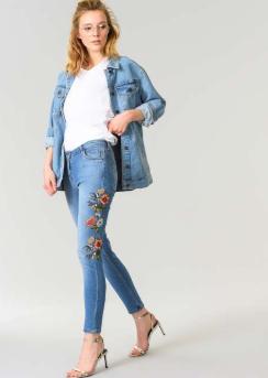 Baskılı Skinny Jeans Modelleri