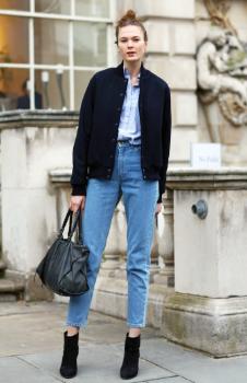 Blazer Mom Jeans Kombinleri