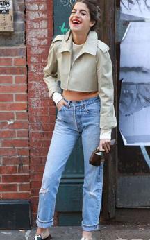 Düğmeli Mom Jeans Modelleri