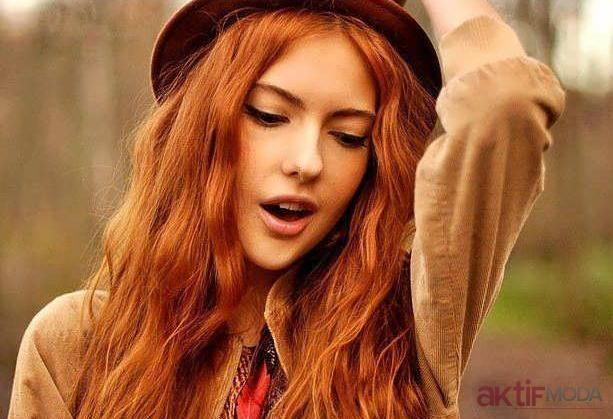 Kına Kızıl Saç Rengi
