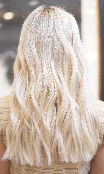 Krem Sarı Saç Rengi