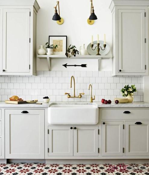 Kitchen Without Window: 2018'in Mutfak Fayans Modelleri