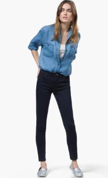 Siyah Skinny Jeans