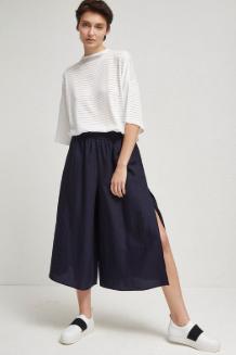 Yırtmaçlı Culotte Pantolon