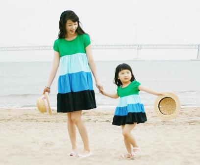 Yazlık Anne Kız Kombinleri