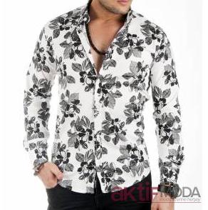 Çiçekli Erkek Gömlek Modelleri