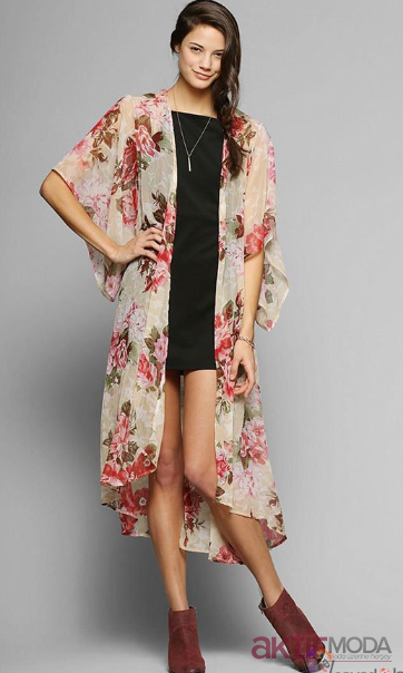 İnce Kimono Modelleri