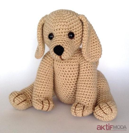 Amigurumi Minik Köpek Yapımı
