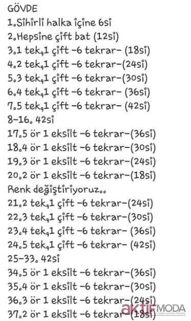 Amigurumi Tırtıl Yapımı | Örme olmayan desenler, Amigurumi ... | 625x373