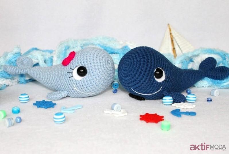 Amigurumi Yunus Balığı Yapımı