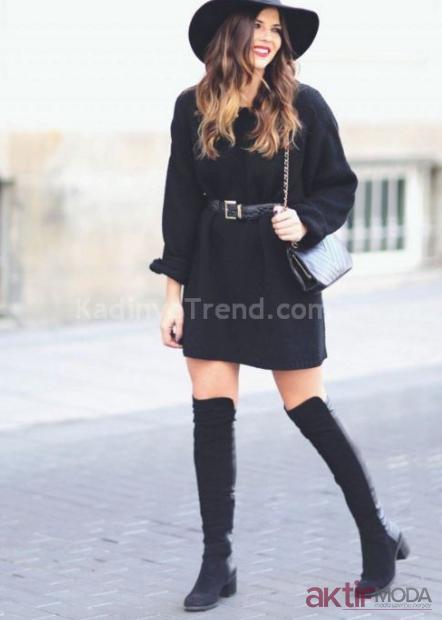 Kışlık Triko Elbise