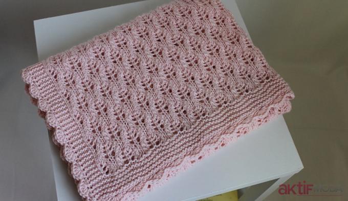 Kız Bebek Battaniye Modelleri