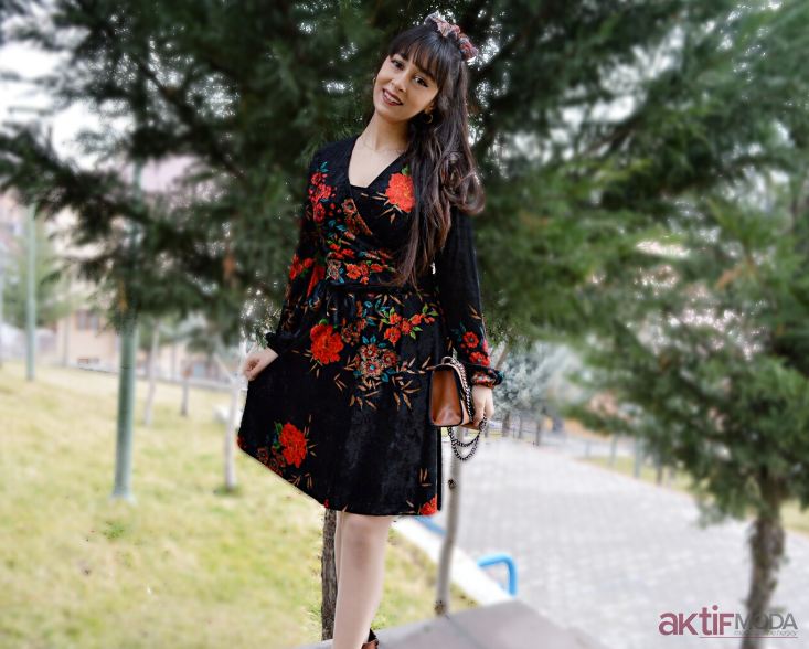 Kimono Elbise Modelleri