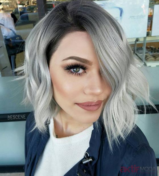2019 Kadın Kısa Saç Modelleri Farklı Modeller Aktif Moda