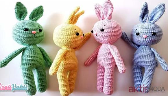 Oyuncak Amigurumi Tavşan