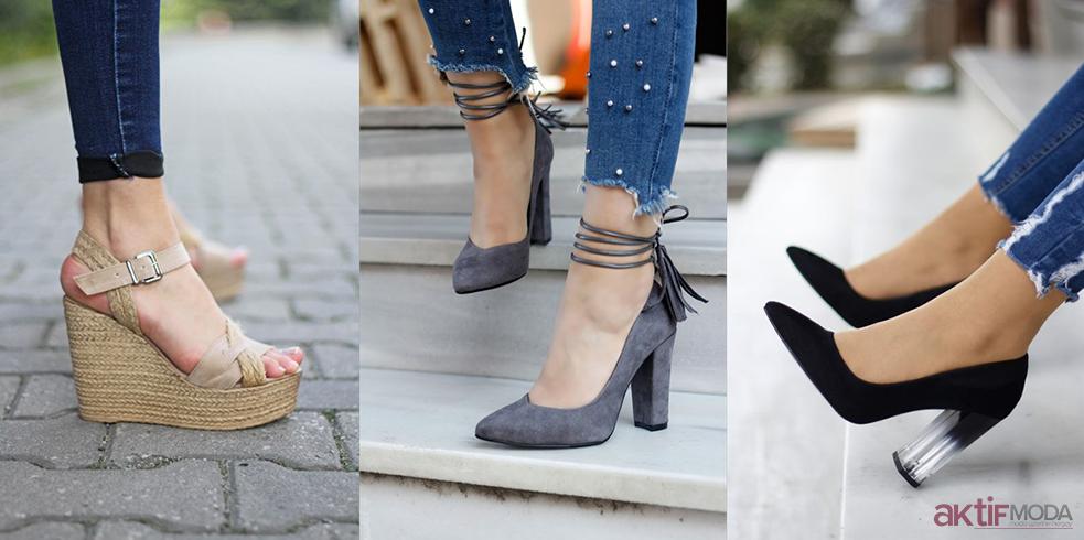 Pantolon İle Topuklu Ayakkabı Kombinleri