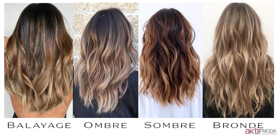 Sombre Saç Farkları