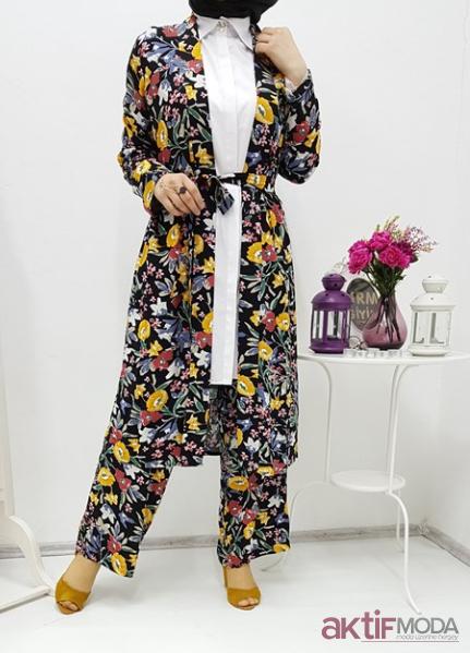 Tesettür Kimono Modelleri